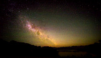 Milkyway over Edgar Pond