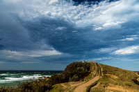 Lower lookout at Byron Bay Lighthouse